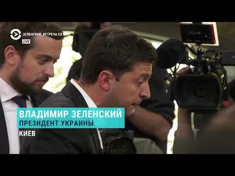 Как две женщины прорвались на пресс-марафон президента Украины
