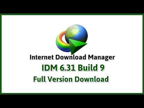 Internet Download Manager IDM 6.31 Build 9 Full Version Lifetime update 2019