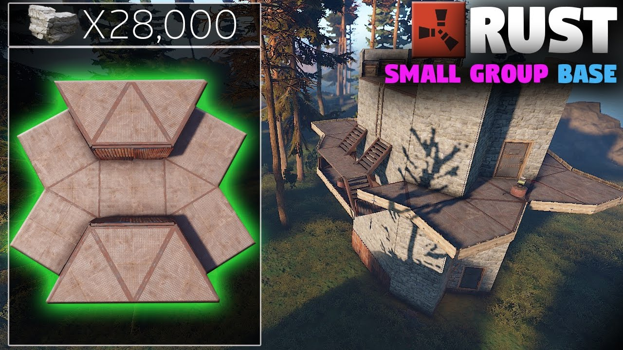 Rust Small Group Base Design