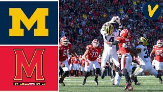 #14 Michigan vs Maryland Highlights | Week 10 | College Football | 2019