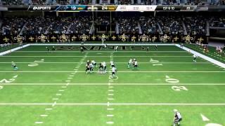 [Week 14] Cam Newton big hit fumble on goal line