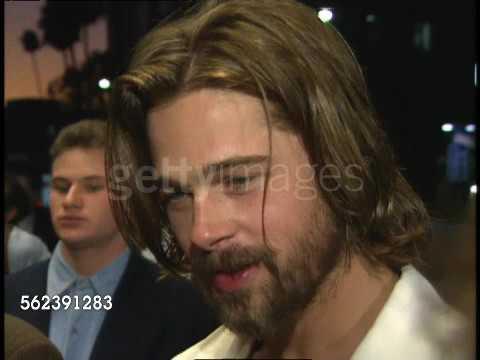 Interview Brad Pitt speak about Johnny Suede 1991