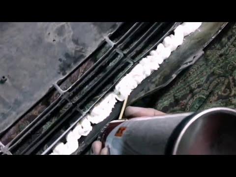 Как восстановить бампер Toyota Camry 35