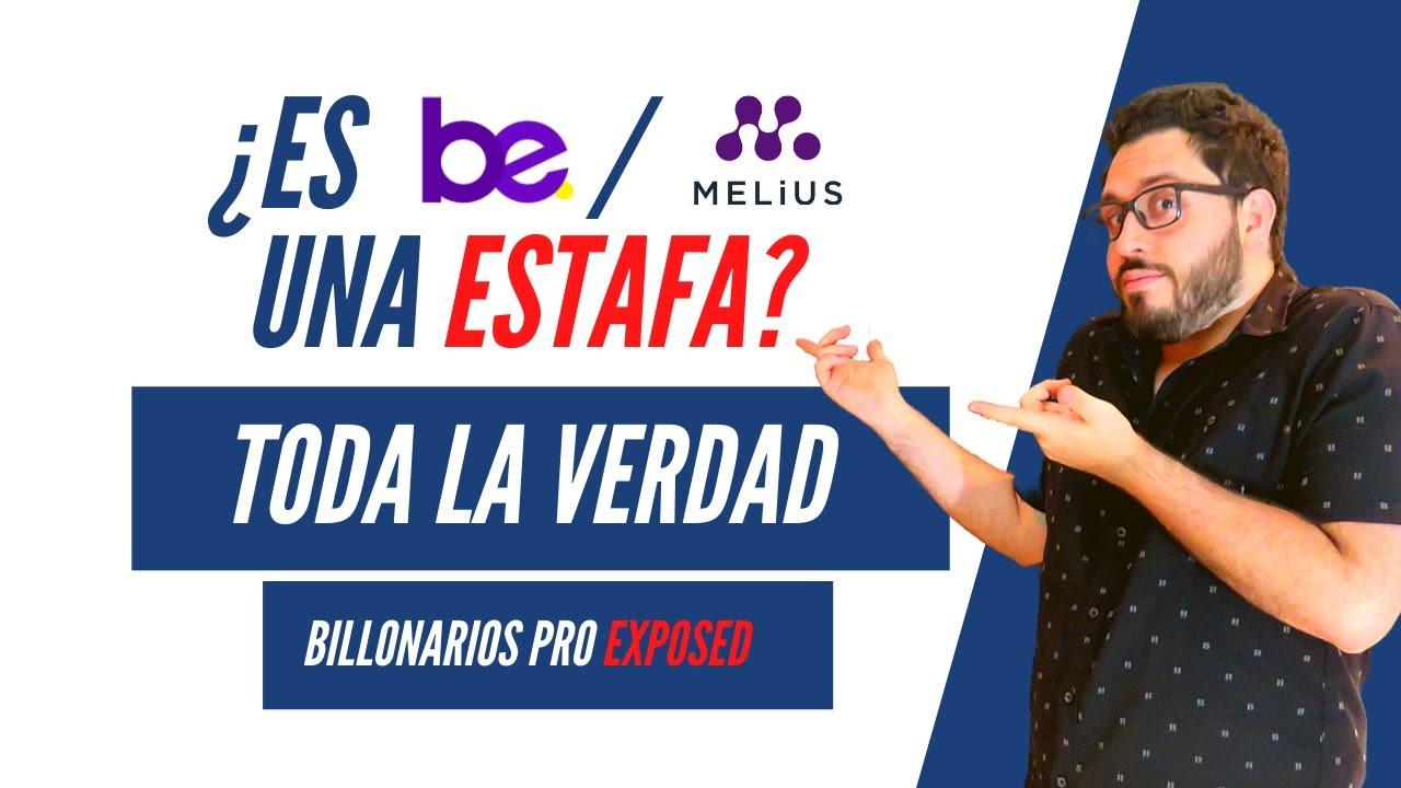 Download TODA la VERDAD sobre BE (MELIUS) Y BILLONARIOS PRO REVELADA - ¡ESTAFA! PARTE 1