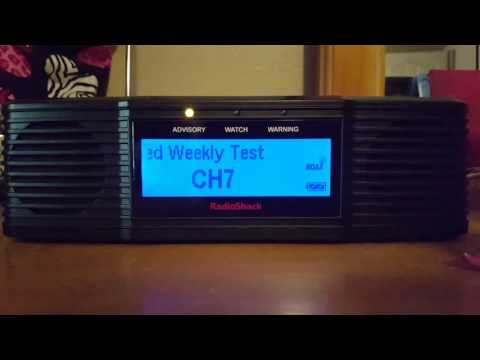 NOAA Weather Radio Weekly Test, Greenville SC