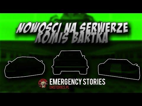 MTA na Emergency Stories #013 Co nowego na serwerze + Komis Bartka :P