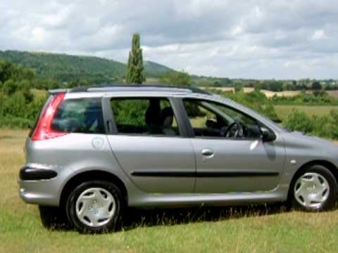 peugeot 206 1 4 hdi sw xt estate more pics at youtube. Black Bedroom Furniture Sets. Home Design Ideas