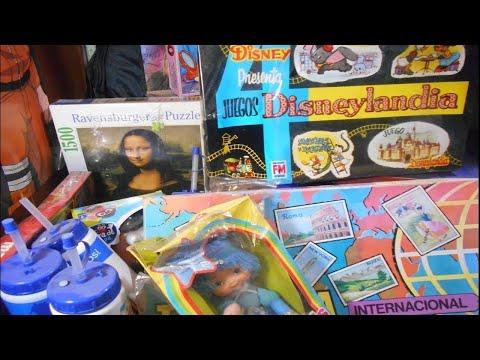 Juegos de mesa vintage, rompecabezas, muñecas, pepsilindros y mas!!!