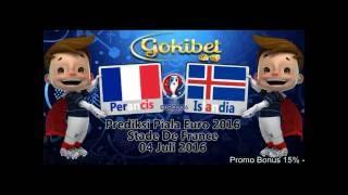 Prediksi Bola Perancis vs Islandia 04 Juli 2016