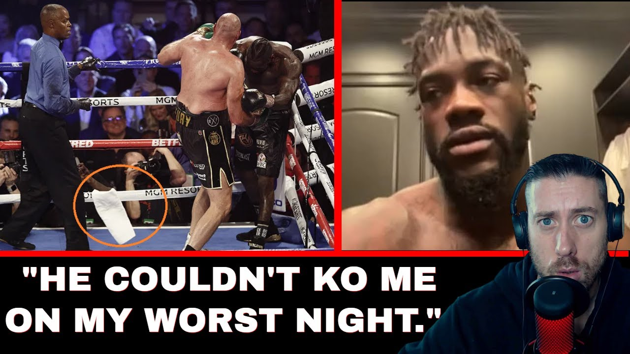 """Download Deontay Wilder: """"Fury couldn't KO me on my worst night""""   BT Sports Interview (REACTION)"""