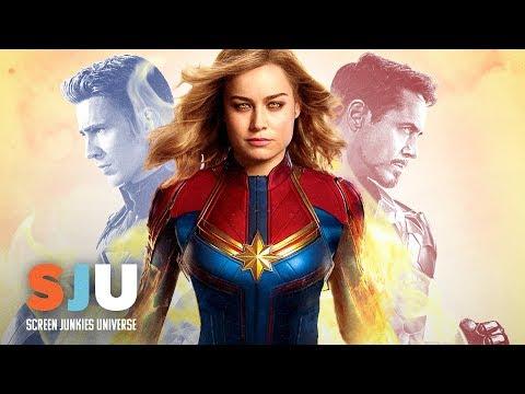 New Avengers: Endgame & Captain Marvel Footage Drops! - SJU