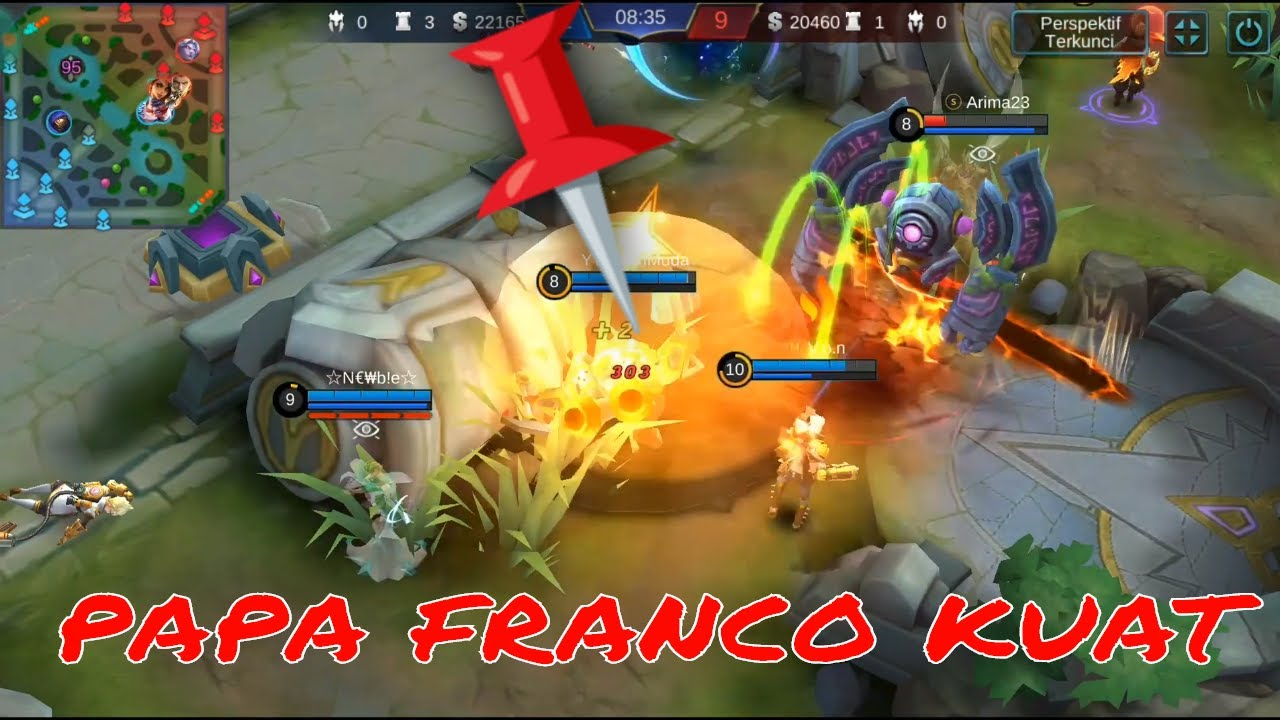 Papa Franco Balas Dendam - Mobile Legend Indonesia