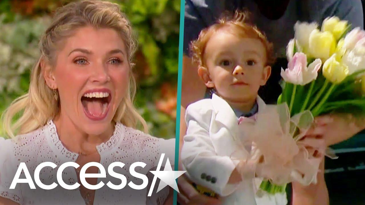Amanda Kloots' Son Elvis Makes TV Debut On 'The Talk'