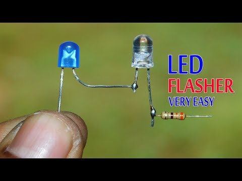 LED Flasher Make Very Easy