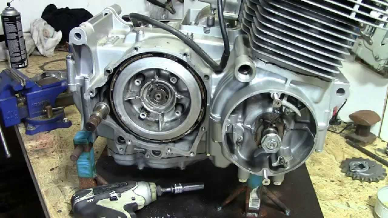maxresdefault 73 honda cb750 custom build part 21 clutch youtube 1970 cb750 clutch diagram at alyssarenee.co