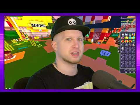 New Stream Layout (but Mostly Playing Trove)