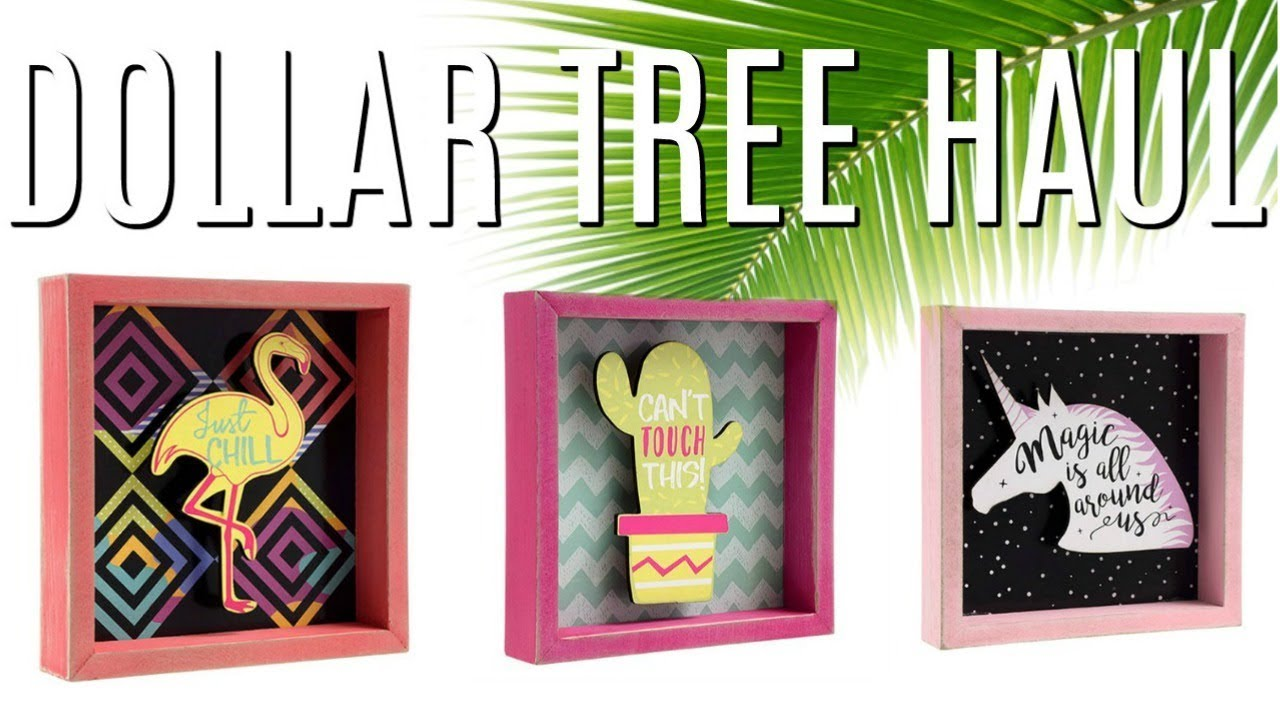 DOLLAR TREE HAUL | NEW SUMMER FINDS - YouTube