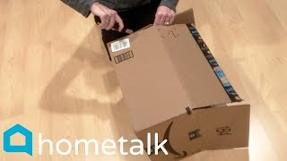 Cardboard Box Upcycles | 6 clever ways to reuse cardboard boxes—not just for shipping! | Hometalk