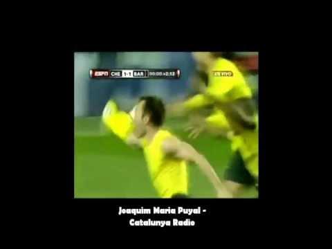 Gol de Iniesta contra o Chelsea - Catalunya Radio
