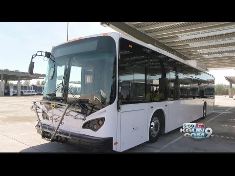 Clean and quiet: SunTran tries electric buses