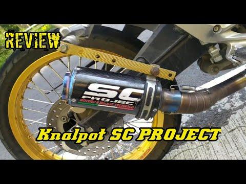 Review knalpot SC PROJECT CBR 150 R