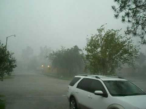 April 18th 2009 Flooding Rains in League City, Texas