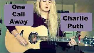 One Call Away-Charlie Puth Guitar Tutorial