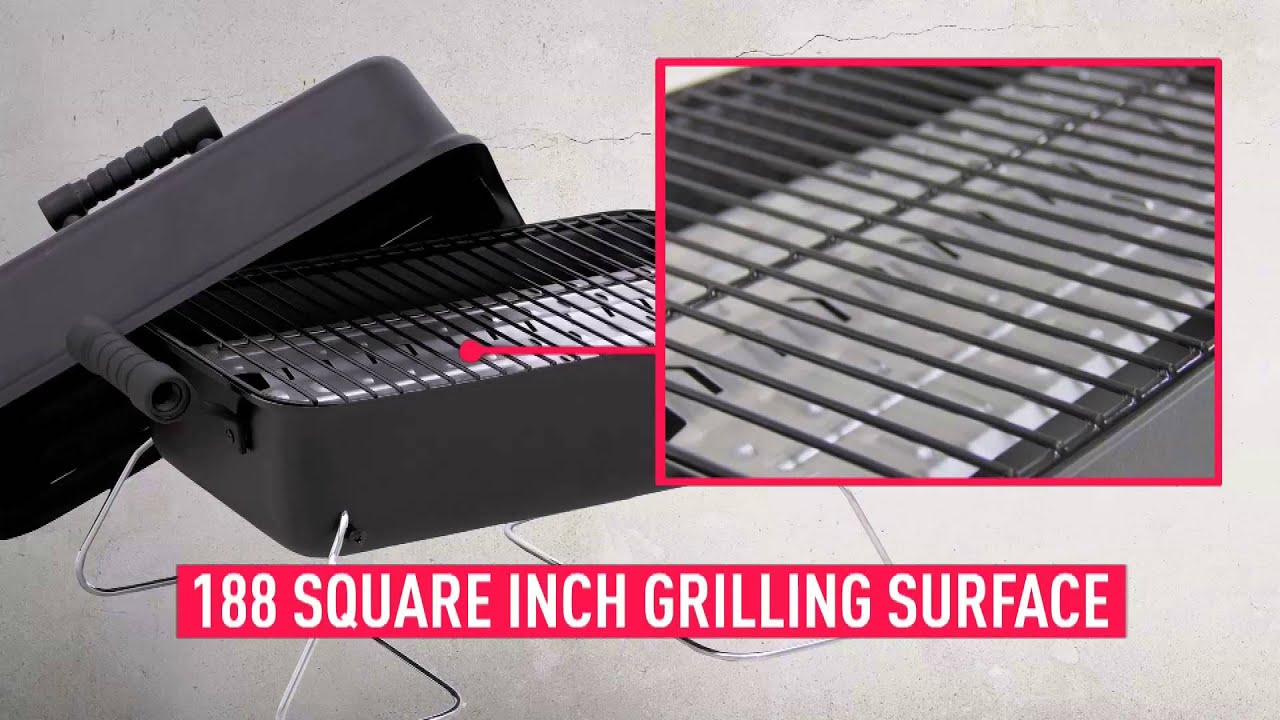 The Char Broil Table Top Gas Grill