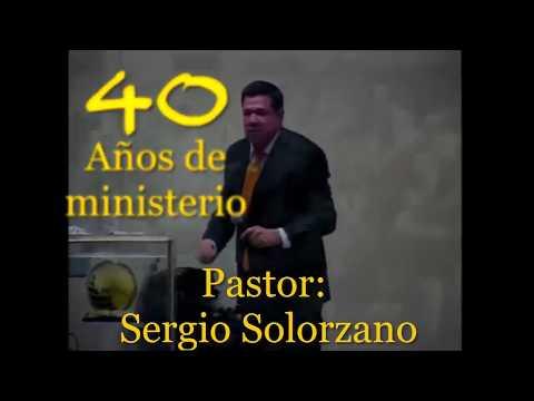 40 años de Ministerio del Pastor Sergio Solórzano