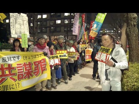 Japanese Citizens Protest Against Land Deal Scandal Involving PM Abe