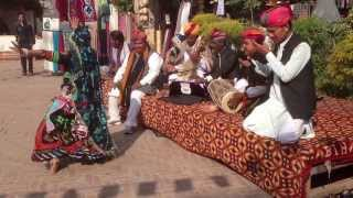 India - Dilli Haat Handicraft Market Musicians