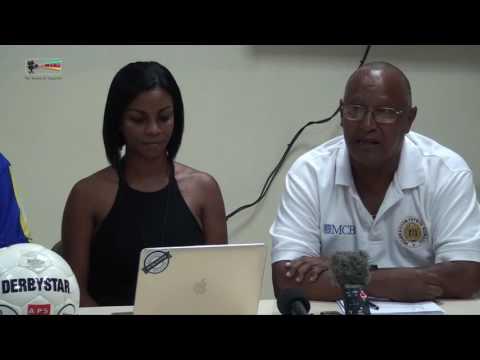Press-conferance Remko Bicentini (coach) Curacao vs Antigua-Barbuda 05 10 2016