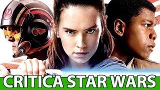 Star Wars os Últimos Jedi critica COM SPOILER