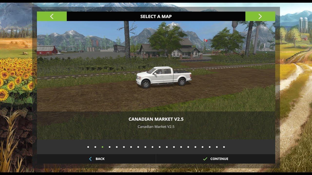 Canadian Map Fs17%0A Farming Simulator        Map Reviews   Canadian Market v