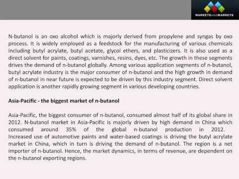 Butyl Acrylate Market Forecast (2012-2018)