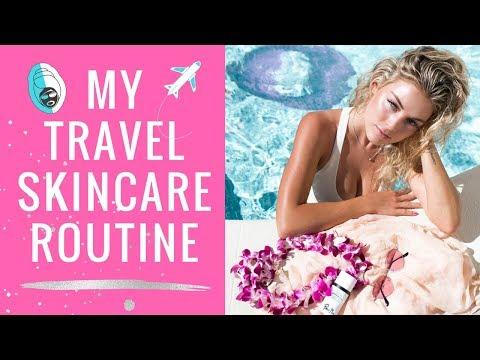 My Travel Skincare Routine | Angelique Cooper