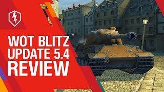 WoT Blitz. Update 5.4 Review