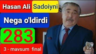 Qora Niyat 283 qism uzbek tilida turk filim кора ният 283 кисм