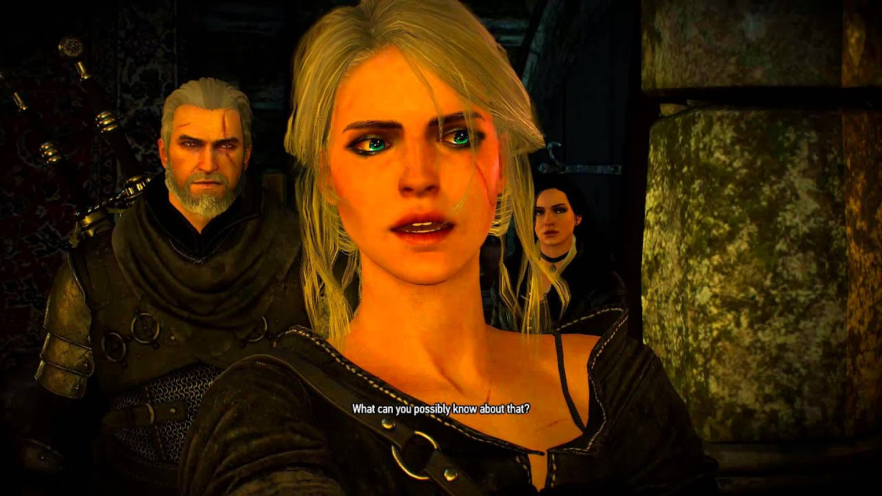 Explaining Yennefer S Behaviour In The Game With A Canon Geralt