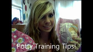 Potty Training Tips & Our Experience! (Heather)