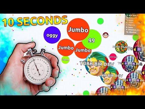 Agar.io - ITS CRAZY HOW FAST I WON !! ( Agario Solo Gameplay )