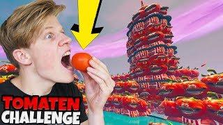 TOMATEN EET CHALLENGE! - Fortnite