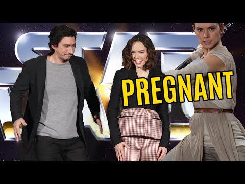 REY PREGNANCY REVEAL TO KYLO NEW