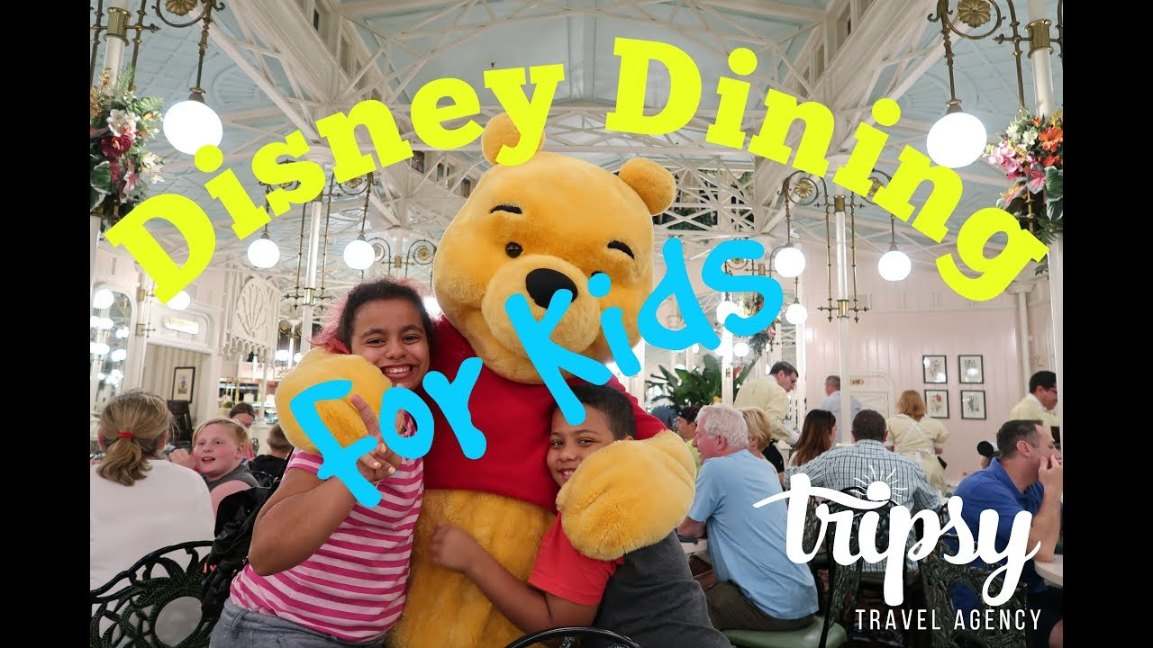 Best Disney Dining For Kids