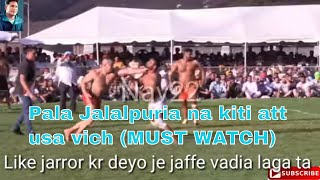 Pala Jalalpuria best jaffe in USA Kabaddi Cup 2019 vs jairo , mukhan makhi,raju