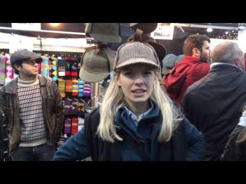 Tourist in London: Old Spitalfields Market