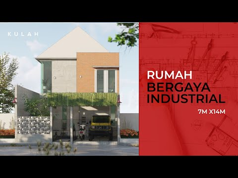 desain-rumah-gaya-industrial-7x14-m-lengkap-dengan-area-musholla-dan-ruang-kerja-juga-perpustakaan