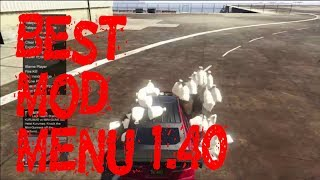 GTA 5 PC Online 1.40 BEST Mod Menu Release Money & Recovery  (PATCHED)