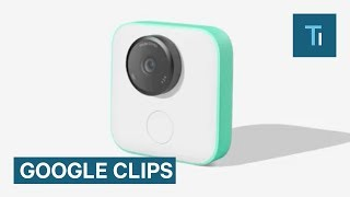 Google Clips is a tiny camera that connects wirelessly to your phone