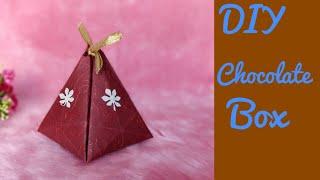 DIY CHOCOLATE BOX | HOW TO MAKE CHOCOLATE BOX | C.A.N